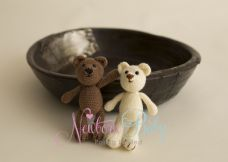 Small Knitted Teddy ~ many colours